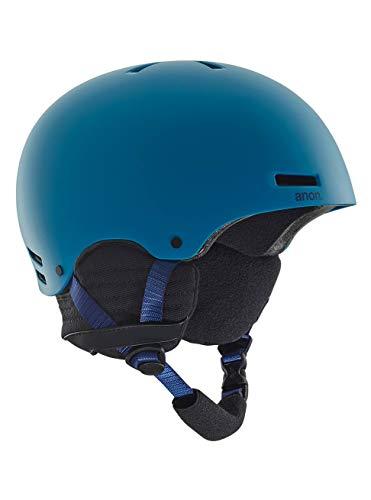 Anon Raider-Casco de Snowboard para Hombre, Invierno, Hombre, Color Azul, tamaño Extra-Large