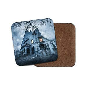 er, Motiv Haunted Hill House - Halloween, gruseliges Mansion, gruseliges Schloss ()
