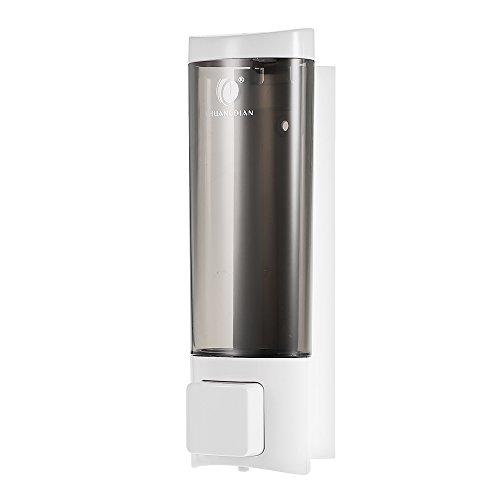 Anself - Dispensador de jabón de pared, Jabonera de líquido loción, 200ml,