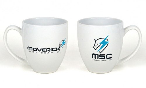 Metal Gear Solid Rising Revengeance Maverick Security Consulting Kaffeetasse, Weiß