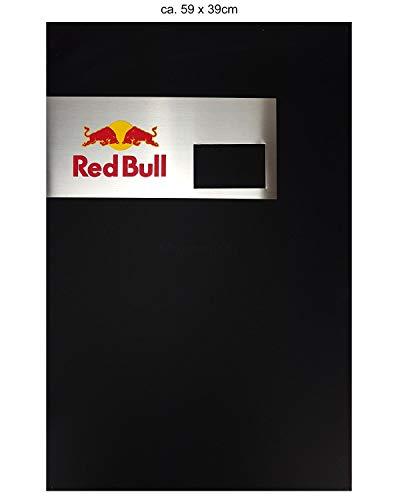 Red Bull Reklametafel Tafel Kreidetafel Metall - Red Bull Logo