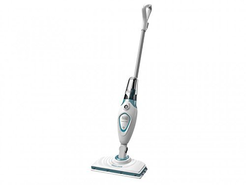 Black & Decker FSM1615-GB 1300 W Steam Mop – White (3-Piece)