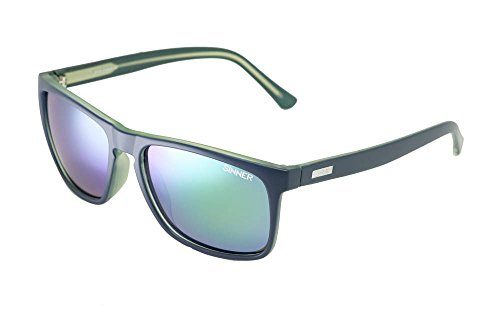 SINNER Erwachsene Sonnenbrille Oak Polycarbonat SINTEC Polarisiert Matt Blau