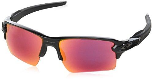 Oakley Herren Flak 2.0 XL 918891 59 Sonnenbrille, Schwarz (Polished Black/Prizmfield)