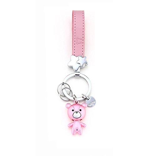 PLL Kreative Cute Bear Schlüsselanhänger Weibliche Schlüsselanhänger Auto Anhänger Schlüsselanhänger - Weiblich-tastatur-maus