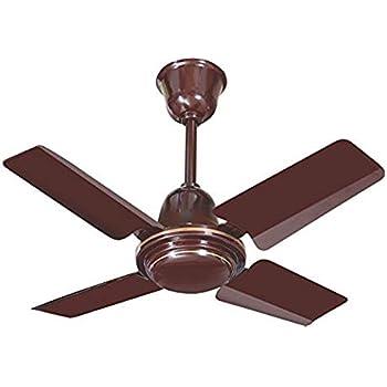 Glamio Hi Speed Ceiling Fan Brown 600 Mm 24 Inch 845 R