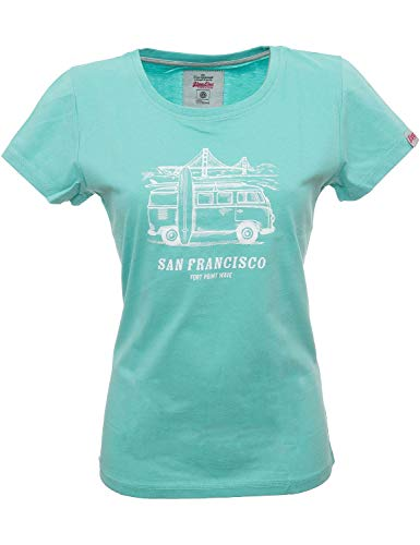 Van One Classic Cars T Shirt Damen San Francisco T-Shirt Sport Outdoor -