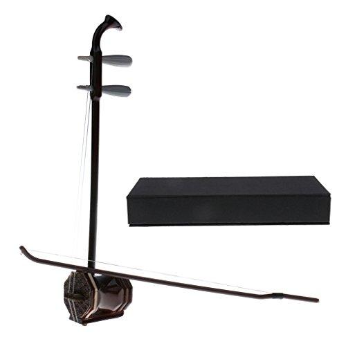 Sharplace Miniatur Chinesische Instrument Holz Erhu Modell Für 1: 6 Aktionfigur / Puppenhaus Deko