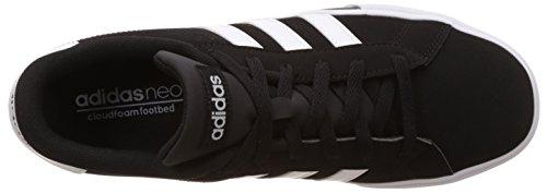 adidas Daily Team, Scarpe da Skateboard uomo Nero (Negbas / Ftwbla / Negbas)