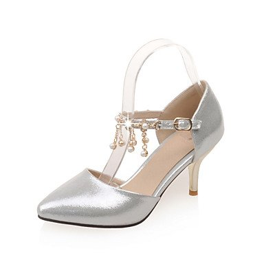 Zormey Women'S Shoes Stiletto Heel/D'Orsay & Amp Zweiteilige/Schuhe Heels Party & Amp Abends/Kleid Rosa/Silber/Gold US5.5 / EU36 / UK3.5 / CN35