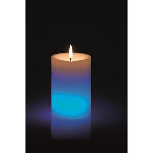 Devineau 1601106vela LED Variation tablas de luz azul 7x 7x 10cm
