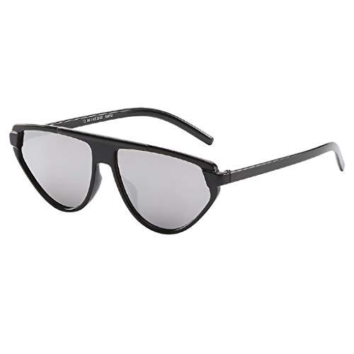 Sonnenbrille Unisex Brillenträger Klassische Vintage Eye Sonnenbrille Retro Katzenauge UV-Schutz Brillen Mode Schutz vor Radioaktivität zum Radfahren Wandern Autofahren Sport