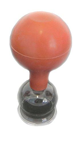 HQ Massage Glasschröpfen mit Saugball Feuerlos 3 / 4 / 5 cm (4cm)