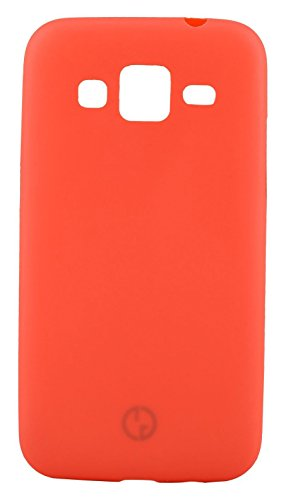 GoRogue Frosted Texture Ultra Slim Soft Smooth TPU Back Case Cover With Free Clear HD Screen Guard For Samsung Galaxy Grand Duos I9082 (Red)  available at amazon for Rs.109