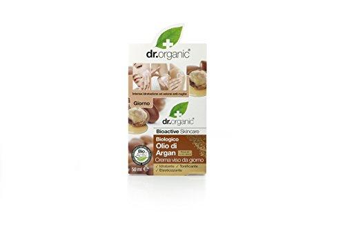 Dr Organic Crema Facial de Día Moroccan Argan Oil 50 ml
