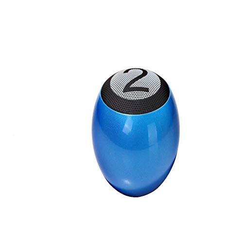 qiyanPortable Wireless Mini Bluetooth Lautsprecher Kreatives Geschenk Tragbarer Billard Mini Lautsprecher Blau -