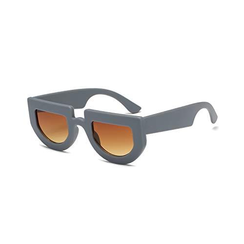Sportbrillen, Angeln Golfbrille,NEW Vintage Retro Small Square Sunglasses Brand Designer Fashion Leopard Black Frame Sun Glasses Women UV400 Shades Grey Brown