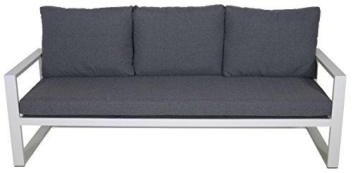 Alu Loungebank Pina Colada 209x80x86cm