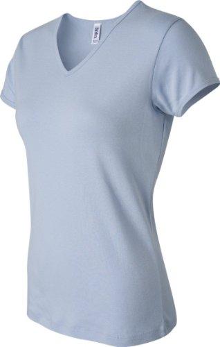 Bella Canvas Damen T-Shirt Blau - babyblau