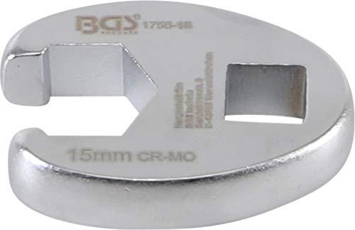 BGS 1756-15 | Clé col de cygne | 10 mm (3/8) | 15 mm