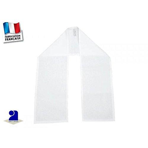 Poussin bleu - Etole de baptême coton blanc Couleur - Blanc