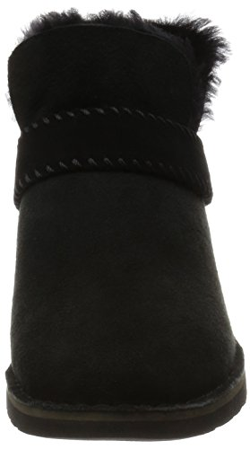 Ugg Australia Women's Mckay Women's Chestnut Leather Ankle Boots 100% Leather Black