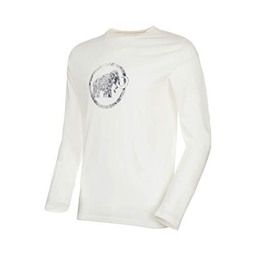 Mammut Herren Logo Longsleeve, Bright White, XL