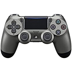 Sony - Mando Inalámbrico DualShock 4, Color Acero Negro (PS4 ...