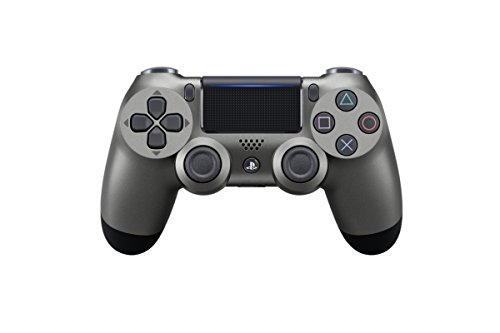 Sony - Mando Inalambrico DualShock 4, Color Acero Negro (PS4)