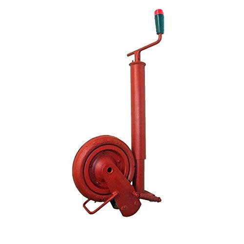 Stützrad Kipper maximale Stützlast 800 kg - Gummirad Gewicht 10,8 kg