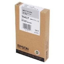 Epson T5437 Cartouche d'encre d'origine Gris