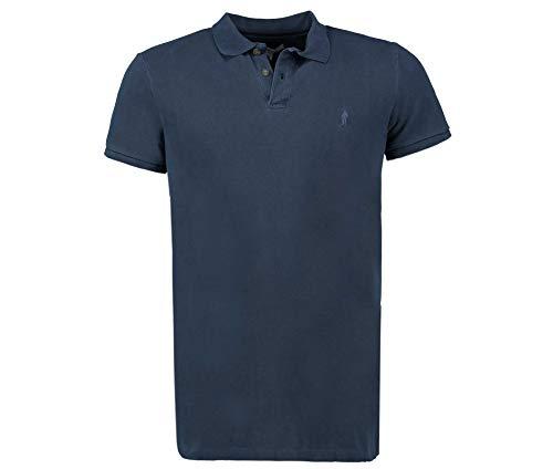 Tony Brown Herren Poloshirt blau 3XL