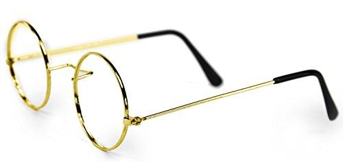 Schöne goldene Brille für Oma, Opa oder (Kostüme Pimp Kinder)