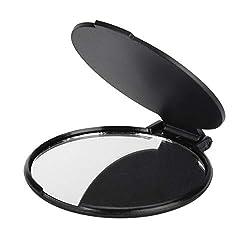 3x KTX7® Taschenspiegel X.1 (Schwarz)