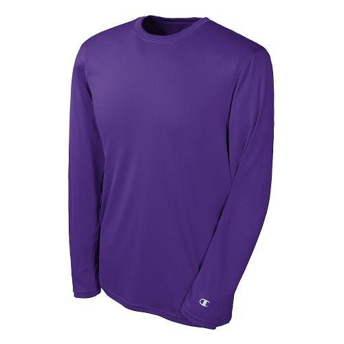 Champion Double Dry T-shirt (Champion Double Dry Long Sleeve Tee M Purple)