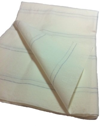 Tragelaken Größe: 100 x 200cm 50 Stück 8fach fadenverst. Schutzlaken Einmallaken Liegenauflagen weiss Tiga-Med Qualität