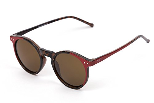 SIETE Sunglasses, Oval, 400 UV Protected, Spain, unisex, medium size (RED TORTOISSE)