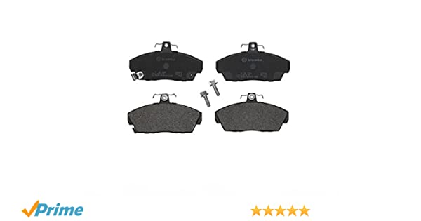 5 YEAR WARRANTY BRAND NEW Delphi Front Brake Pad Set GENUINE Bolts LP911
