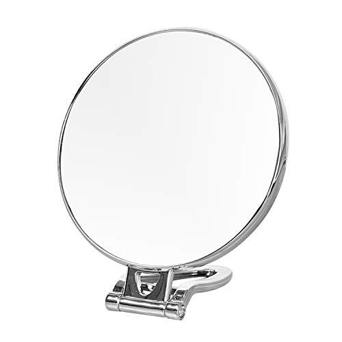 CJJC Tragbare Doppelseitige Hand Halten Kosmetikspiegel Faltbare Runde Hängende Schönheit Spiegel...