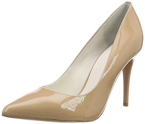Buffalo 11877-305, Zapatos Tacón Mujer, Beige Nude