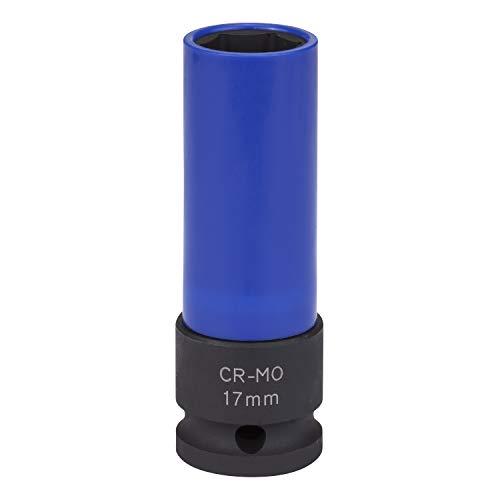 Kraft-Schoneinsatz 17mm für Alu-Felgen für Schlagschrauber von WIESEMANN 1893 I Kraft-Steckschlüssel-Satz I Schonnüsse I Impact Socket I 0,5 Zoll I 80294 -