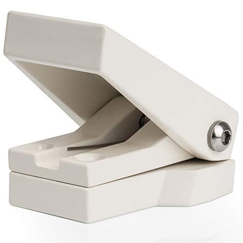 Fensterschnapper 04117 Zusätzliche Fenstersicherung | Einbruchschutz Ohne Batterien...