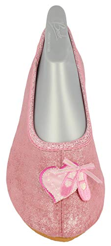 Kostüm Mädchen Clearance - Beck Mädchen Ballett Gymnastikschuhe, Pink (Rosa 03), 26 EU