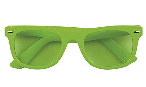 Boland 02622 Brille Dance, Unisex- Erwachsene, Neongrün, Taglia Unica