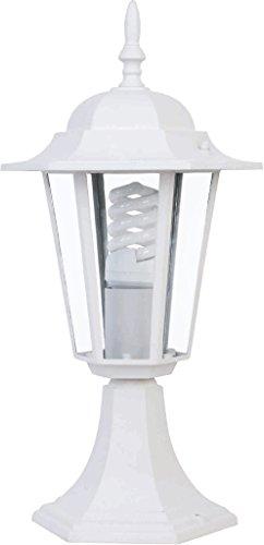 Lámpara de sobremuro para exterior Astrid 7hSevenOn Outdoor 09182, 60W, IP44, E27. Color blanco. [Clase de eficiencia energética A]