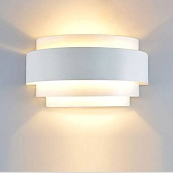 Lampop Lampada da Parete Moderna Applique da Parete Interno LED 5W Camera  da Letto Apliques Luce Moderni