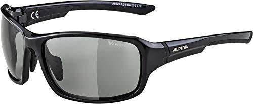Alpina Unisex- Erwachsene LYRON VL Sportbrille, schwarz, One Size