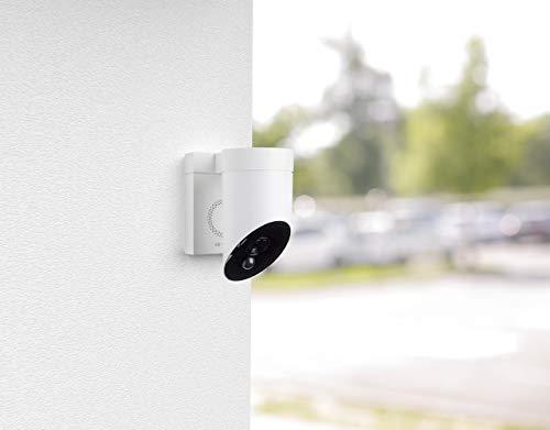 31dJftpXHwL [Bon Plan Smarthome!]  Somfy 2401560 - Outdoor Camera | Caméra de surveillance extérieure Wifi | 1080p Full HD | Sirène 110 dB | 3 branche...