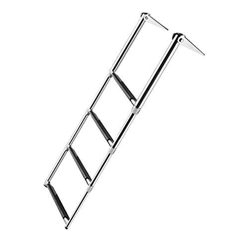 Escalera de lanzamiento de barcos de acero inoxidable 304, Escalera de cubierta de natación, Escalera...