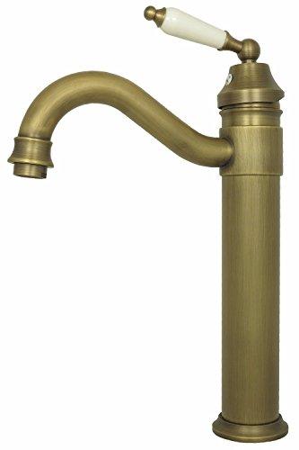 Retro Waschschalen Aufsatz Waschbecken Waschtisch Hochdruck Armatur hoch Einhebelmischer Mischbatterie Nostalgie Wasserhahn Badarmatur Antik